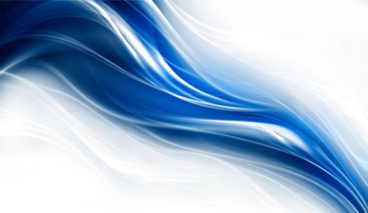 Фотообои синяя графика фон (background-0000186)