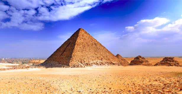 Фотообои Египетские пирамиды (city-0000019)