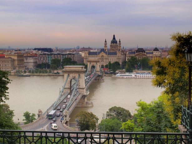Фотообои Будапешт, мост, архитектура (city-0000141)