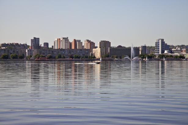 Фотообои Днепропетровск Днепр Украина (city-0000836)
