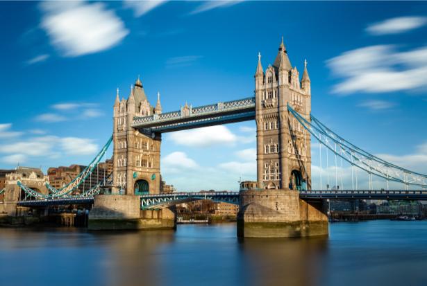 Фотообои Тауэр небо Лондон (city-0001040)