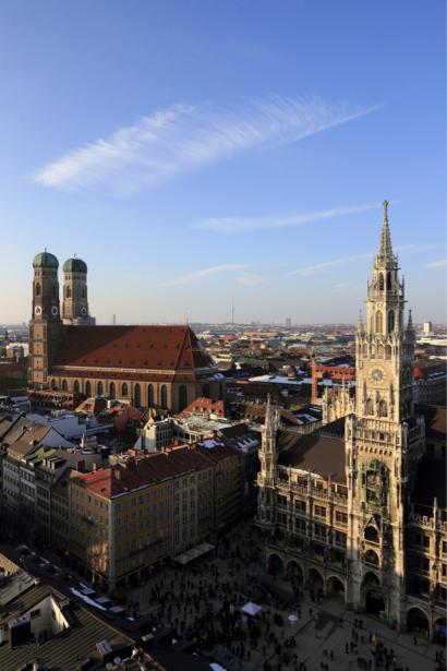 Фотообои мюнхен мариенплац (city-0001075)