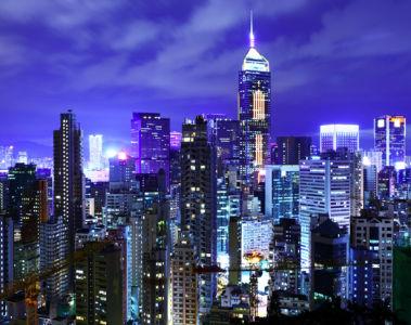 Сингапур ночью - фотообои (city-0001148)