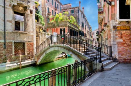Фотообои Венеция ковка мостик (city-0001211)