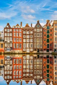 Фотообои здания в Амстердаме (city-1448)
