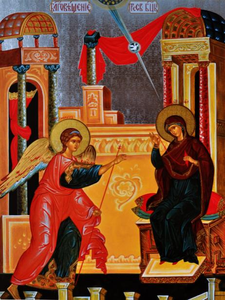 Благовещение Пресвятой Богородицы (icon-00025)