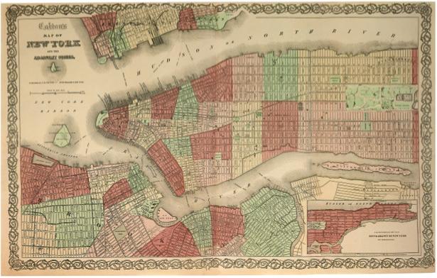 география, карты, старая карта (map-0000028)