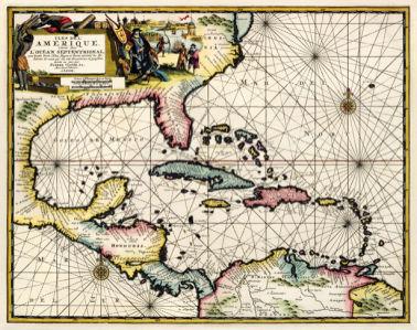 атлас, география, карты, старая карта (map-0000100)