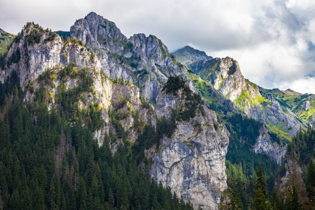 Фотообои вид с горы (nature-0000646)