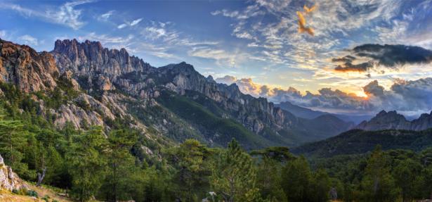 Фотообои вид на горы (nature-0000773)