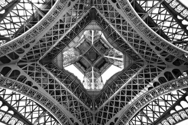 Фотообои на потолок Эйфелева башня (ov-27)