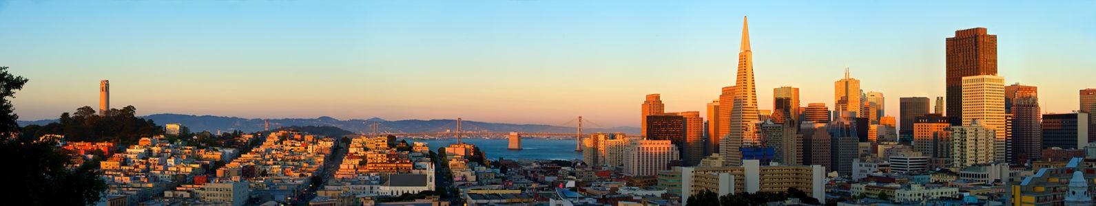 Фотообои Сан-Франциско (panorama-61)