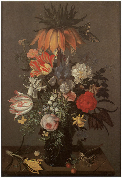 Картина цветочный натюрморт (pf-16)