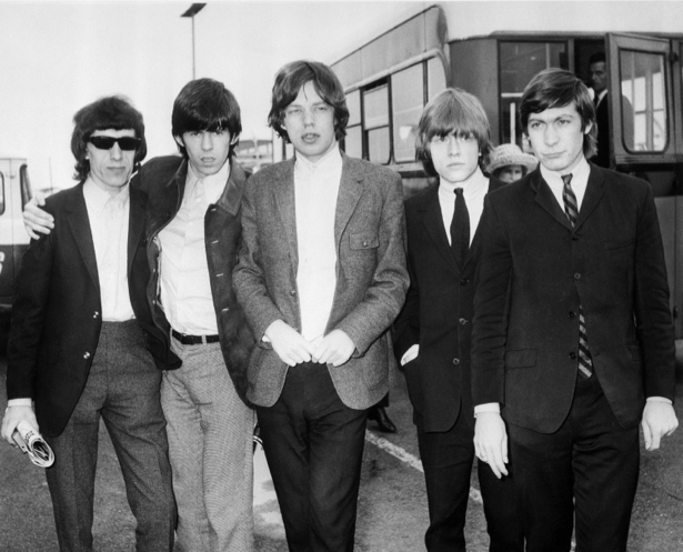 Фотообои рок-группа Роллинг Стоунс (retro-vintage-0000223)