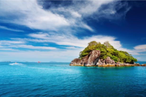 Фотообои океанический остров (sea-0000053)