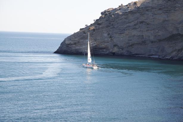 Фотообои Черное море яхта (sea-0000262)