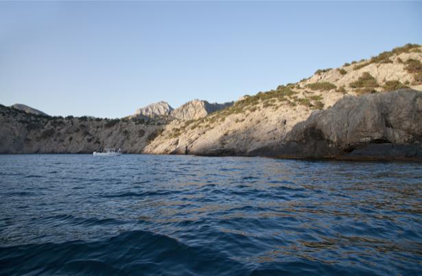 Фотообои бухта в Черном море (sea-0000266)