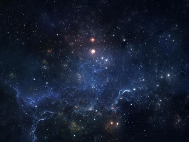 Фотообои звездное небо космос (space-0000084)