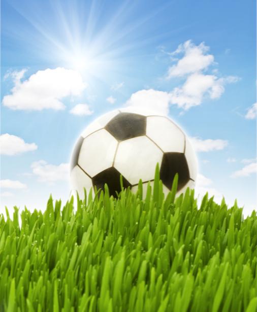 Фотообои футбольный мяч (sport-0000049)