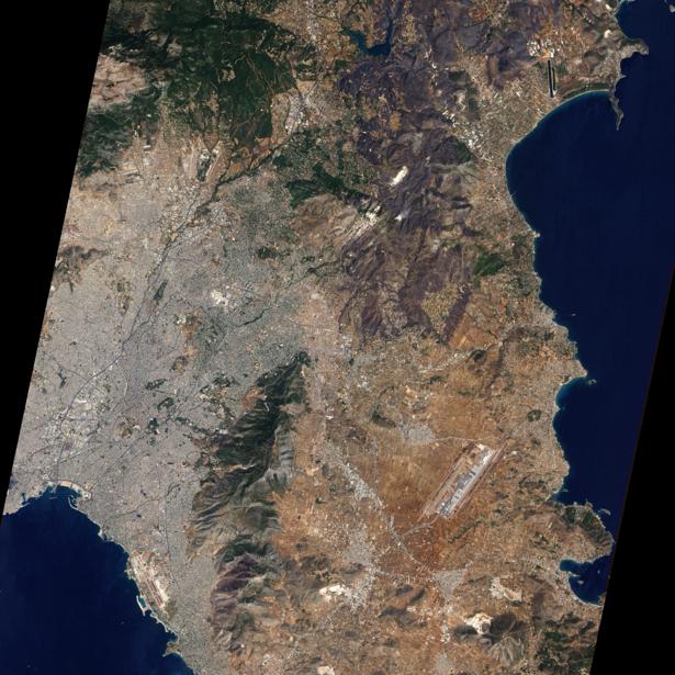 Фотообои фото горы сверху (terra-00125)