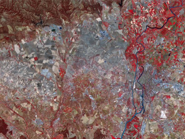Фотообои на заказ кубизм земли (terra-00145)
