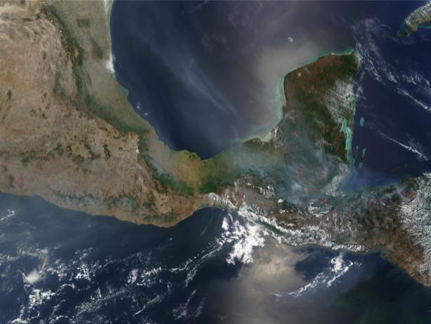 Фотообои NASA примыкание (terra-00269)