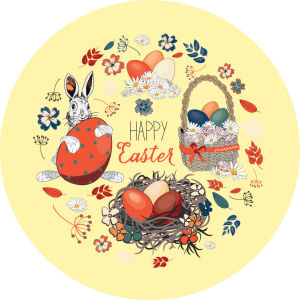 Скатерть Happy Easter (0166)