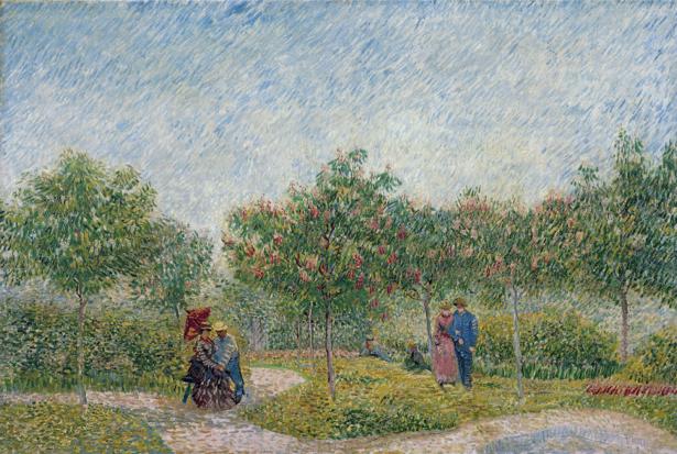 Ван Гог пейзаж (art-0000175)