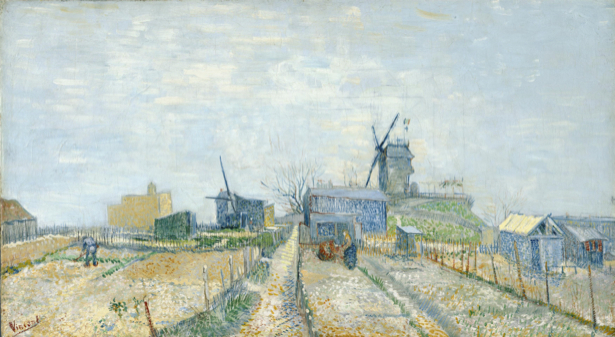 Ван Гог пейзаж (art-0000220)