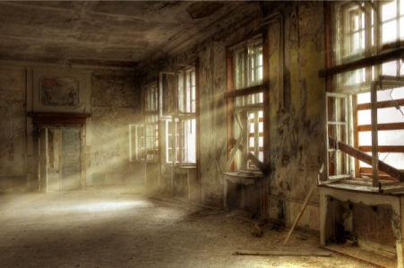 Фотообои зал старой усадьбы (city-0000257)