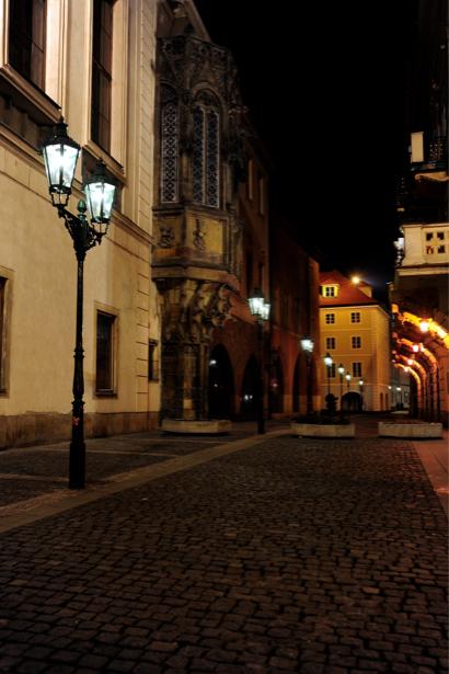 Фотообои Пражский град ночью, Прага, Чехия (city-0000310)