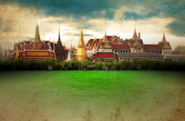 Фотообои Таиланд Бангкок (city-0000589)