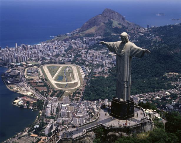 Фотообои Бразилия статуя Христа (city-0000651)