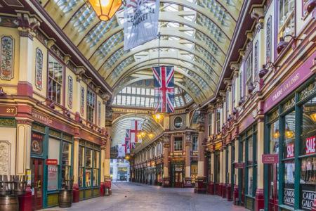 Фотообои Leadenhall Market рынок (city-0001260)