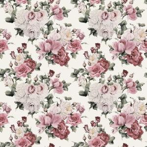 Фотообои белые и красные розы (flowers-781)