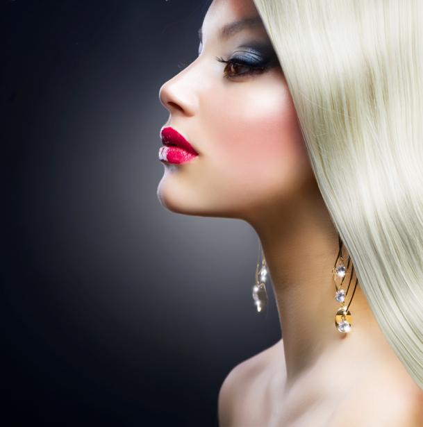 Фотообои девушка прическа блондинка (glamour-0000198)