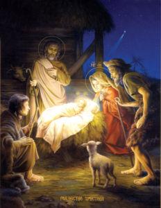 икона Рождество Христово (icon-00053)