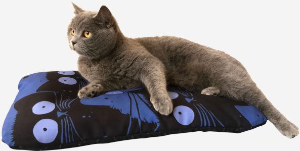Подушка для кота Кошачьи глаза (kote-1)