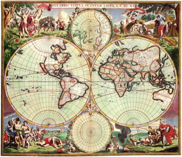 география, карты, старая карта (map-0000029)