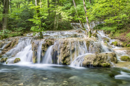 Фотообои водопад деревья (nature-0000857)