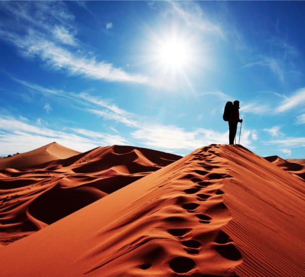 Фотообои пустыня солнце песок (nature-00320)