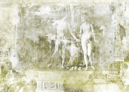 Фотообои для спальни Адам и Ева (printmaking-0000024)