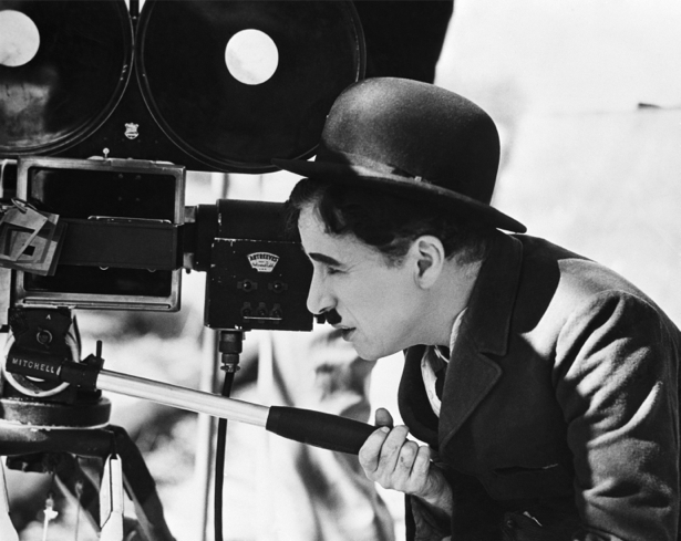 Чарли Чаплин, актер (retro-vintage-0000273)