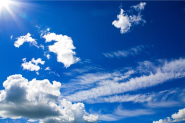 Фотообои обои облака синее небо (sky-0000056)