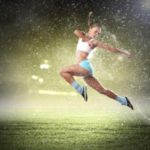 Фотообои спорт брызги (sport-0000124)