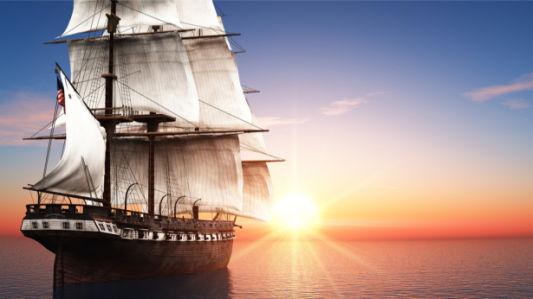 Фотообои старый корабль (transport-0000256)