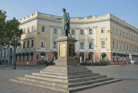 Фотообои памятник Дюку де Ришелье в Одессе (ukr-24)