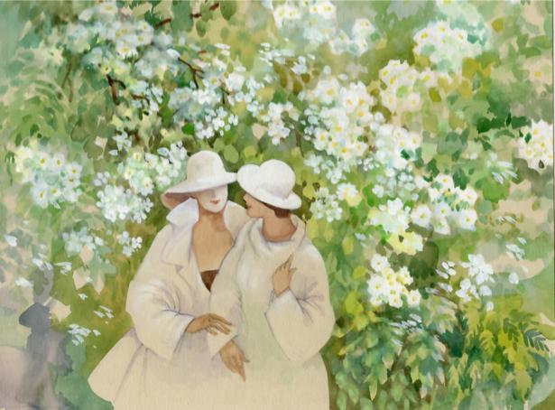 Картина в цветах Украина (ukraine-0229)