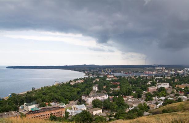 Фотообои Запорожье река Днепр (ukraine-0265)