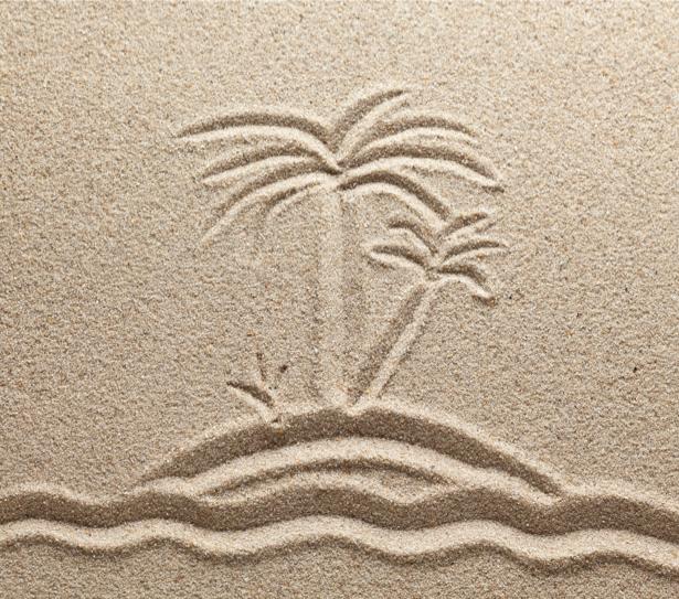 Фотообои в ванную рисунок на песке (underwater-world-00127)